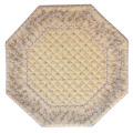 8角形オクトゴナルフレームテーブルマット38×38cmサイズ(カリソン&小花・ベージュ) 【フランス】TP_OCT17::他サイズお取り寄せ可能
