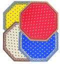 8角形オクトゴナルフレームテーブルマット38×38cmサイズ(Marat d'Avignon アヴィニョン 全4色)TP_OCT35 【フランス】