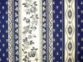 プロヴァンス生地【フランス】 Marat d'Avignon アヴィニョン・ネイビーブルー RAYURE TIS_100