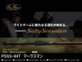 エバーグリーン ソルティセンセーション PSSS-84T マークスマン 【チューブラーティップ】【2ピース】