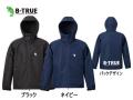 エバーグリーン/B-TRUE シェルパーカー 【防風/撥水】