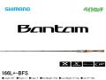 シマノ バンタム 166L+-BFS (38099)