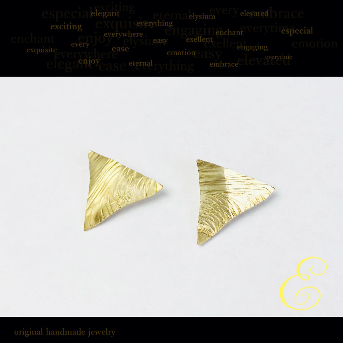 ピアス brass E-pi-0009