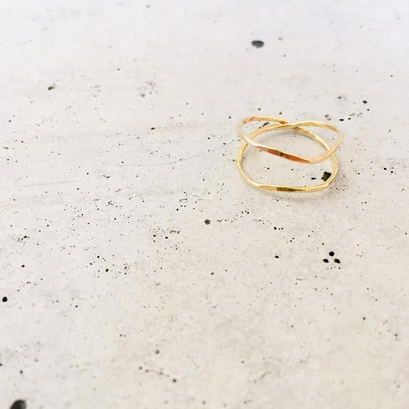 一点物 真鍮 デザイン ring  0010 メール便可