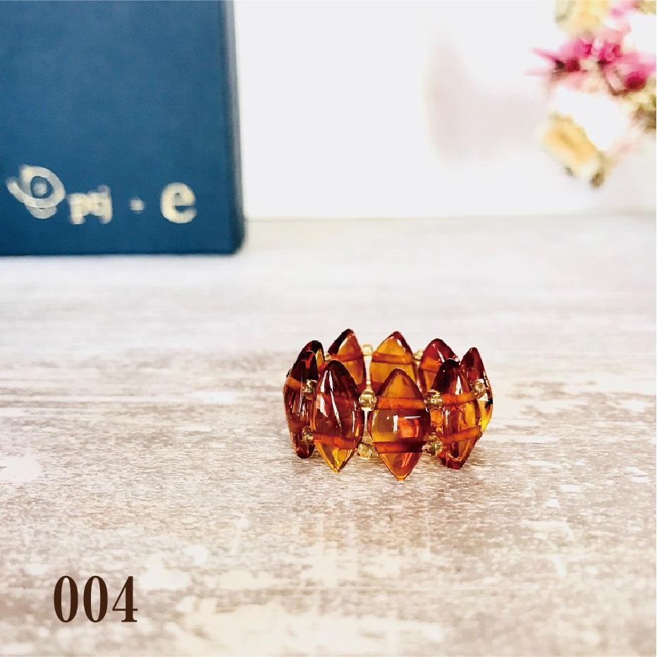 琥珀 アンバー リング 『Amber oval リング』 [メール便可]