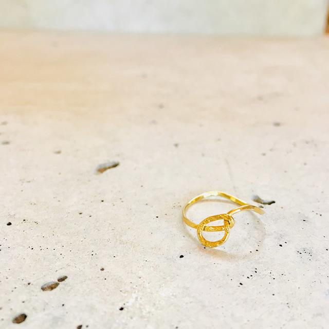 一点物 真鍮 デザイン ring  0006 メール便可