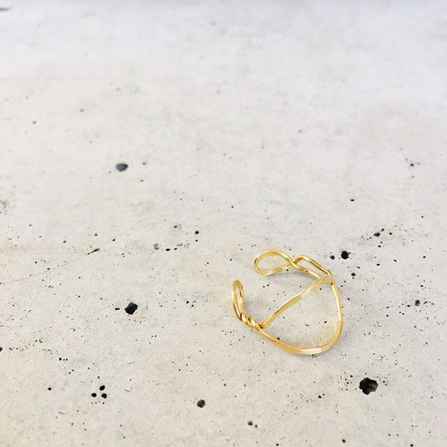 一点物 真鍮 デザイン ring  0007 メール便可