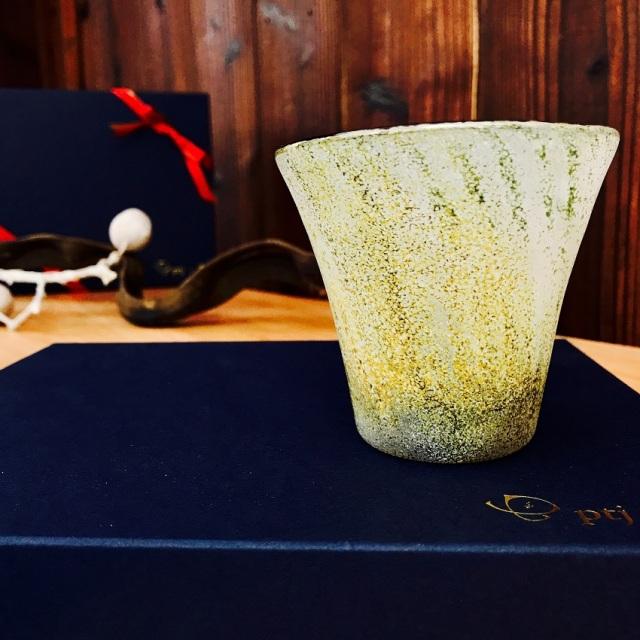 グラス 吹きガラス 色ガラス glass studio 206番地 橋村野美知作 001