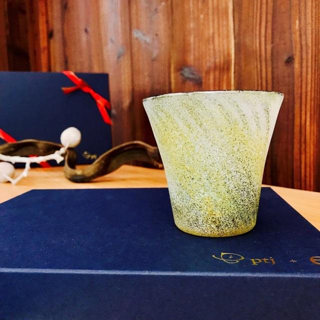 グラス 吹きガラス 色ガラス glass studio 206番地 橋村野美知作 002