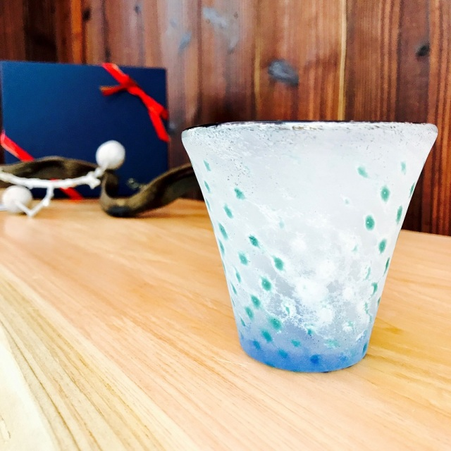 グラス 吹きガラス 色ガラス glass studio 206番地 橋村野美知作 003