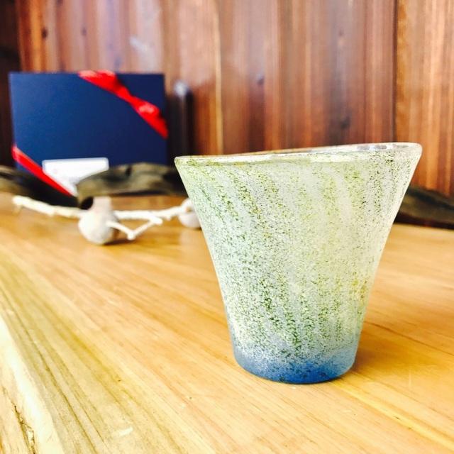 グラス 吹きガラス 色ガラス glass studio 206番地 橋村野美知作 006
