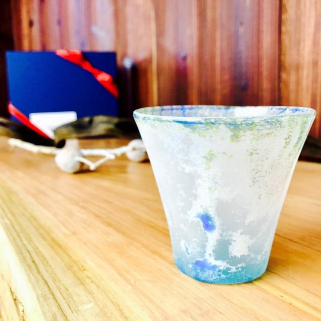 グラス 吹きガラス 色ガラス glass studio 206番地 橋村野美知作 007
