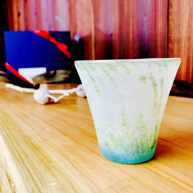 グラス 吹きガラス 色ガラス glass studio 206番地 橋村野美知作 008