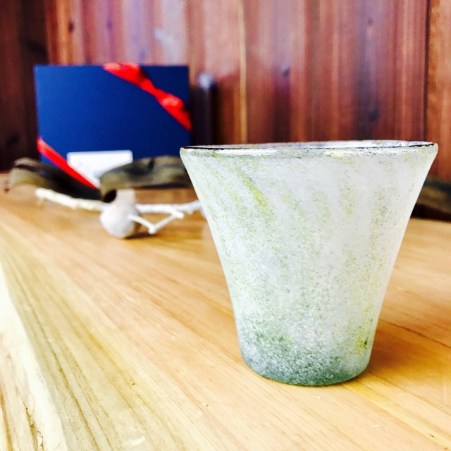 グラス 吹きガラス 色ガラス glass studio 206番地 橋村野美知作 010