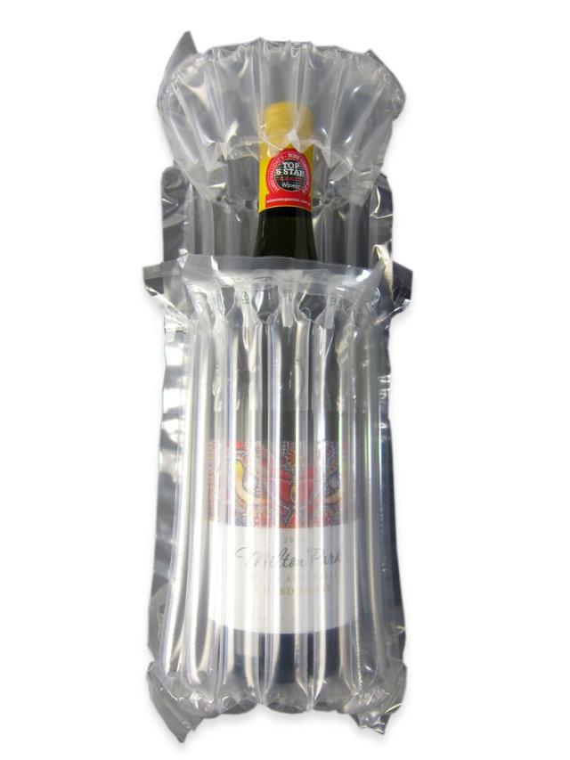 空気で包む エアーバッグ ワイン袋