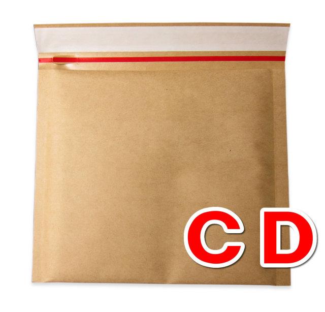 クッション封筒 CD
