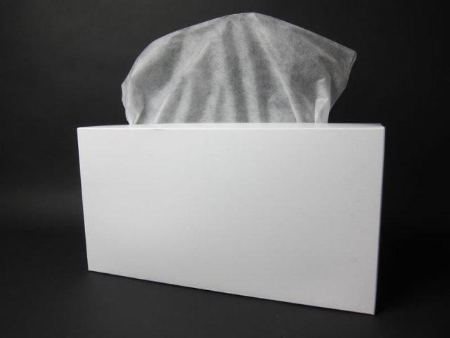【1000枚(100枚×10箱)】【送料無料】 不織布フェイシャルカバー 無地箱入り・業務用 【2~3営業日後出荷】