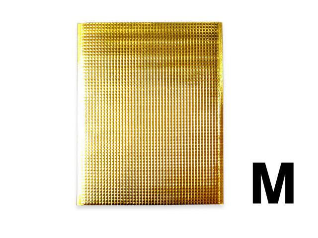 保冷袋 ゴールド金色 Mサイズ