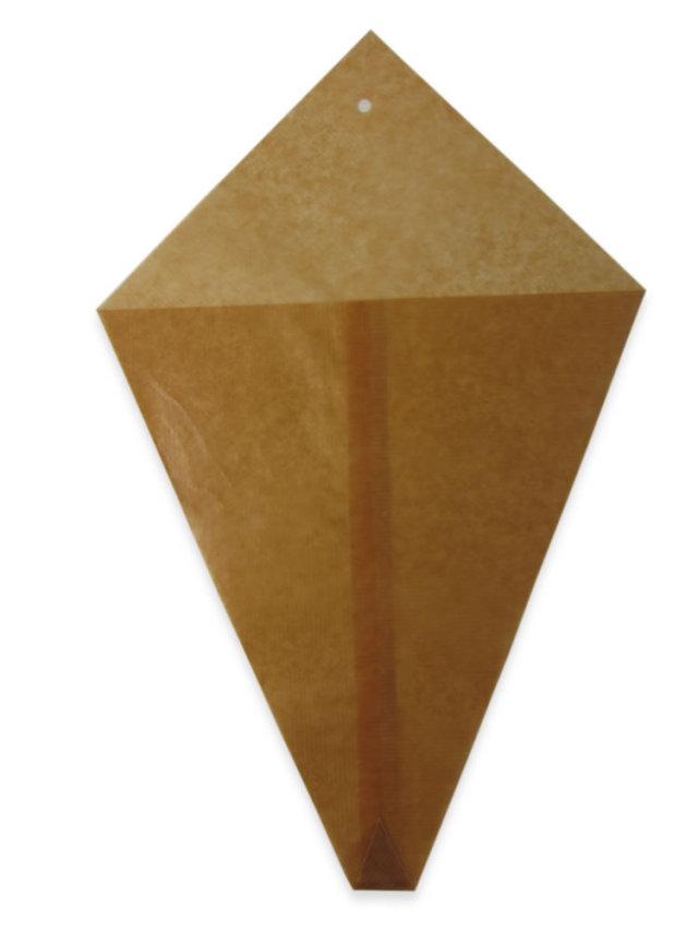 ロー引三角袋(大)