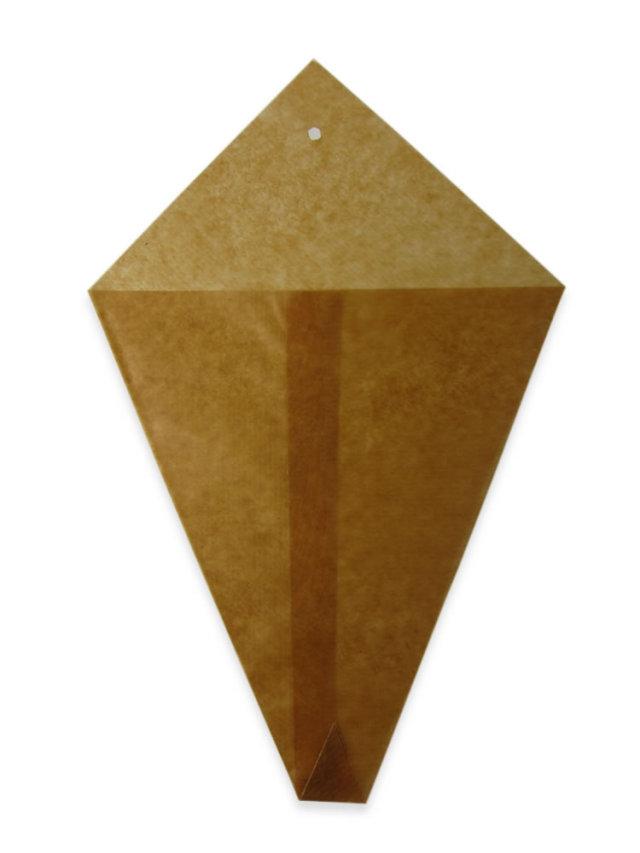 ロー引三角袋