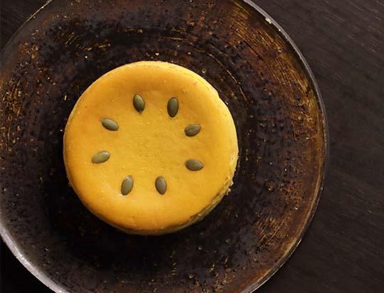 北海道産えびすかぼちゃのチーズケーキ
