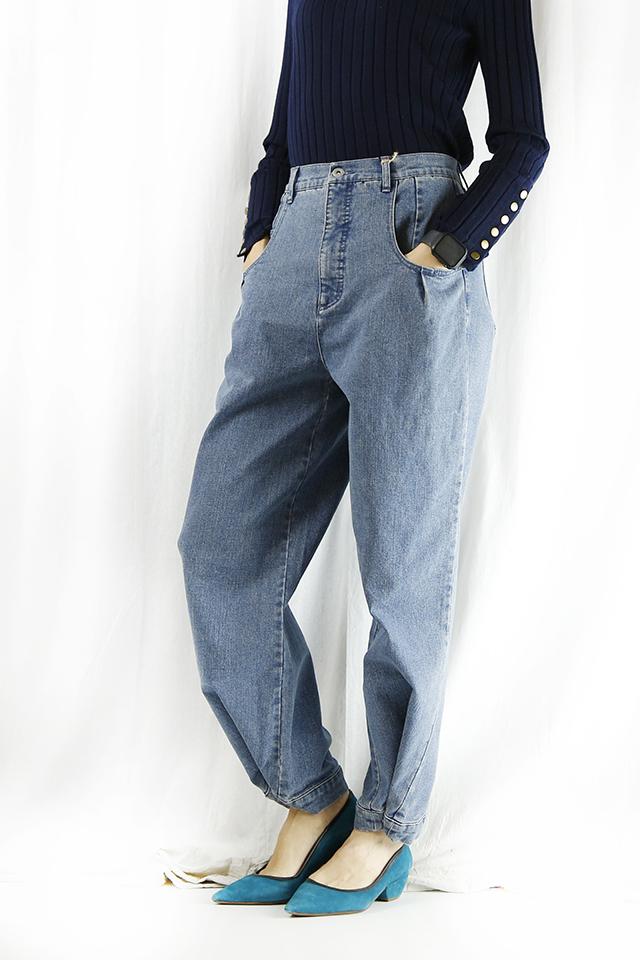 CYNICAL (シニカル)   裾絞り2wayデニム 152-96048-64