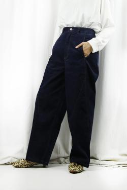 CYNICAL (シニカル)  別珍デニムワイドパンツ 152-96037-68