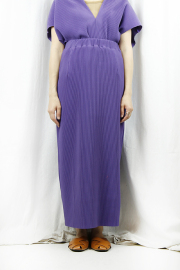 WOM(ワム)  PURPLE PLEATS SKIRT  SNB-J-48