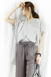 CHIGNON(シニヨン) スキッパーシャツ  1611-432KK