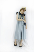 Tavii (タヴィ)3WAY skirt like tuck pants TAS-8101-AI-44