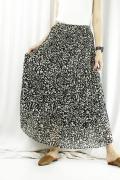 SUGAR ROSE(シュガーローズ) レオパード柄プリーツスカート 219506