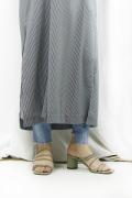 WOM(ワム)   ECO LEATHER STRAP SANDALS  SNB-SH-1-M-pistachio