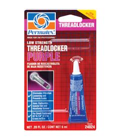 パーマテックス ネジロック スレッドロッカー 紫 金属用:低強度 6ml PTX24024
