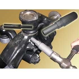 送料無料 【ハスコー】 ノックピン(キーボルト)叩き抜きサポートツール ノックピンリムーバー / KP-410P