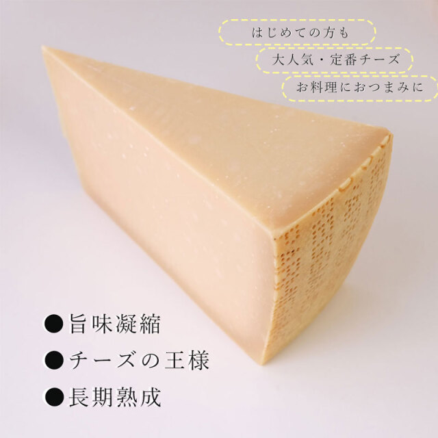 チーズ専門店 チーズの王様 イタリア代表パルミジャーノレッジャーノ36ヶ月熟成