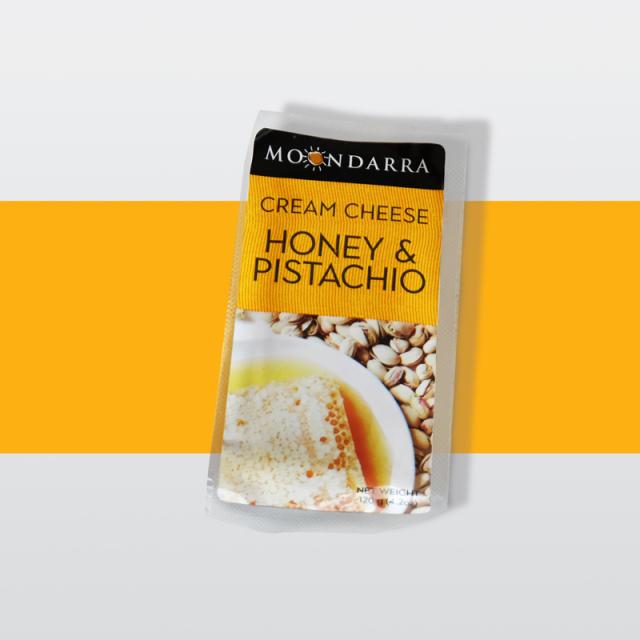 ハニー&ピスタチオクリームチーズ