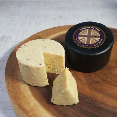 チーズ専門店 ハードセミハード トリュフ入り オーガニックヴィンテージチェダー