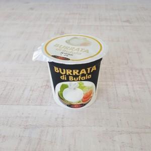 水牛乳製のブラータのパッケージ