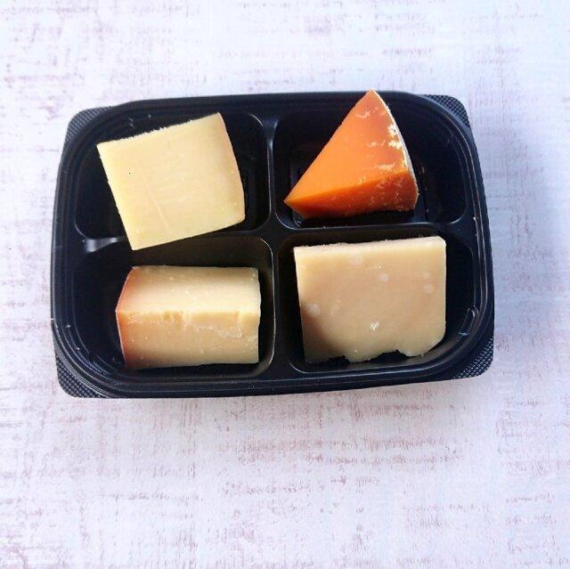 ハードチーズ4種オードブル