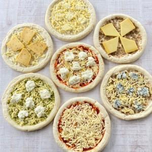 チーズ専門店のピザ 7枚セット キャトルフォイユのピザ おうちごはん