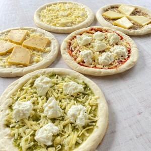 チーズ専門店のピザ・7枚セット