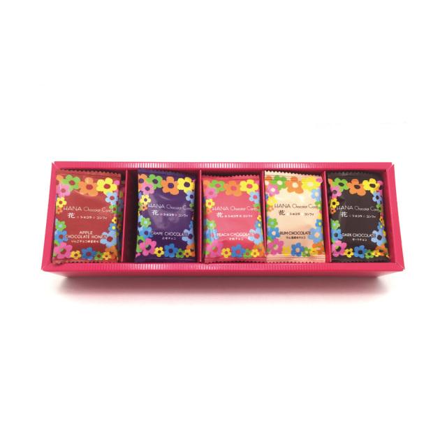 信州産フルーツチョコなどを染み込ませた花ショコラコンフィ