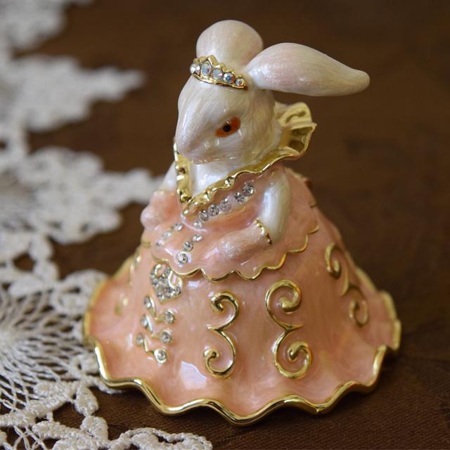 ジュエリーボックス うさぎの王女ピンクバージョン