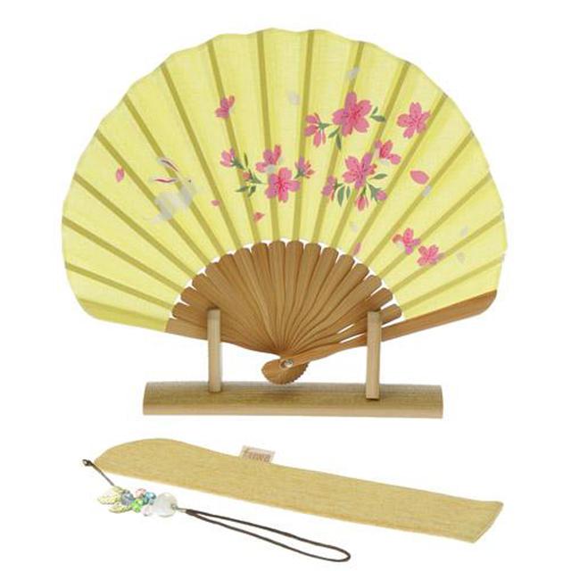 桜とうさぎの美扇子