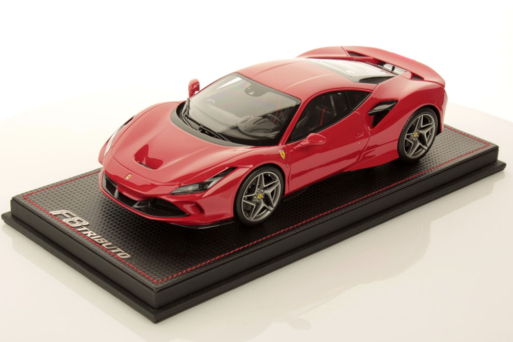MR collection FE027A 1/18 Ferrari F8 Tributo Red Geneva Motorshow 2019