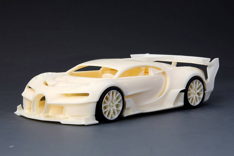 Hobby Design /ALPHA Model 1/24キット ブガッティ ヴィジョン グランツーリスモ