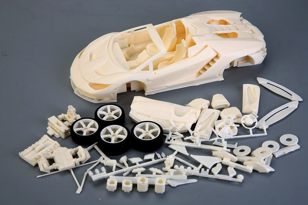 Hobby Design /ALPHA Model 1/24キット Lamborghini Centenario Roadster