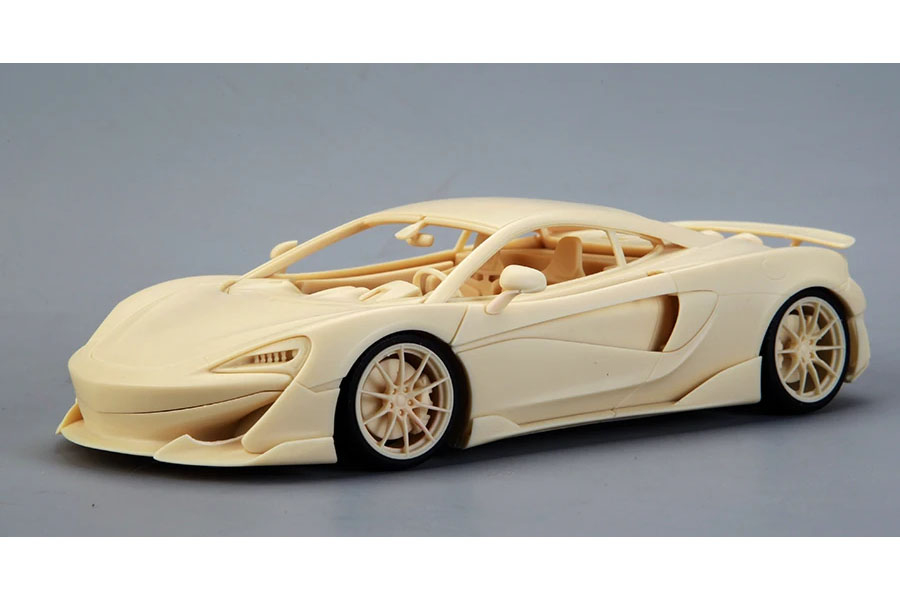 ** 予約商品 ** Hobby Design /ALPHA Model 1/24キット AM02-0017 McLaren 600LT