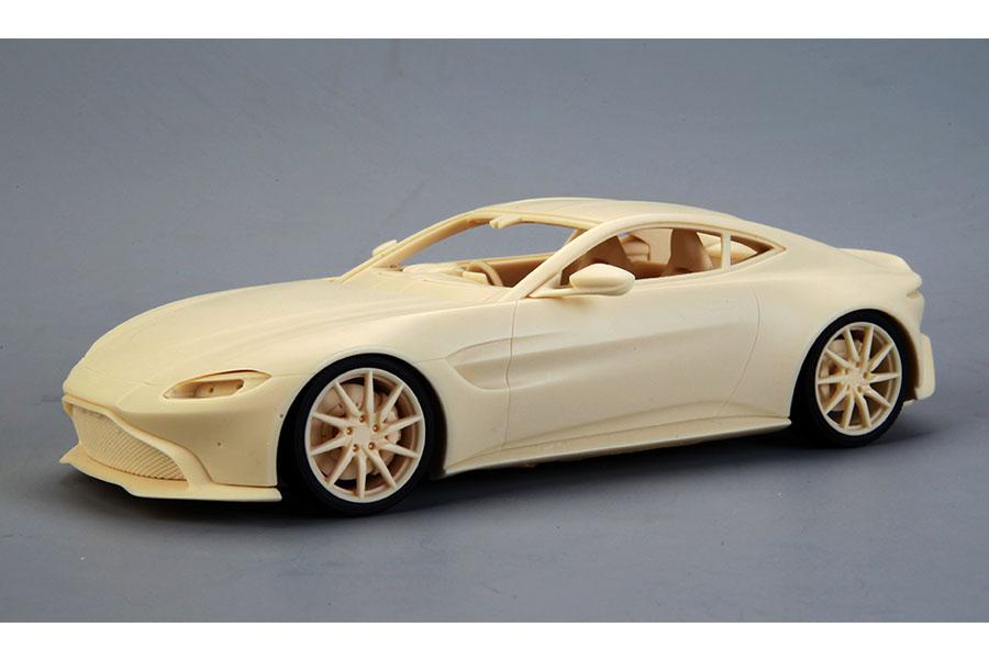 ** 再入荷待ち ** Hobby Design /ALPHA Model 1/24キット AM02-0019 Aston Martin Vantage