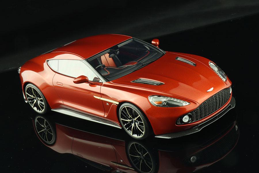 ** 予約商品 ** Hobby Design /ALPHA Model 1/24キット AM02-0025 Aston Martin Vanquish Zagato
